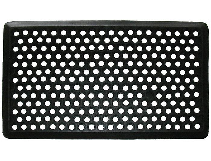 Honeycomb 18x30 Rubber Doormat, , large