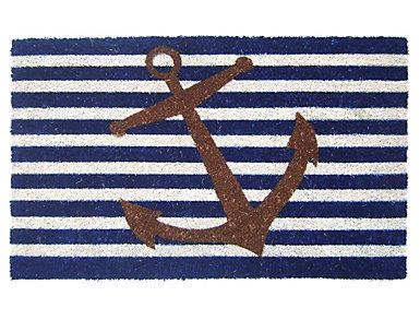 Anchor 18x30 Doormat, , large