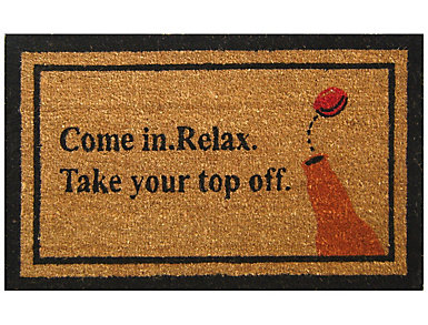 Top Off 18x30 Doormat, , large