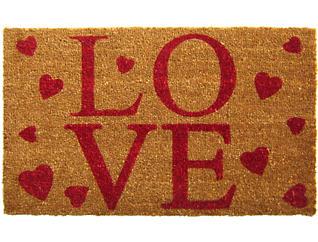 LOVE 18x30 Doormat, , large
