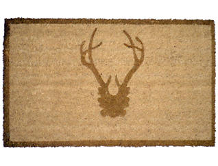 Antler Bronze 20x48 Door Mat, , large