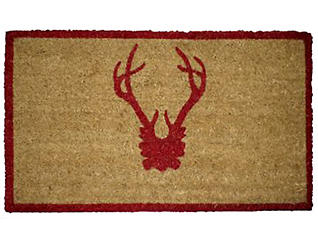 Antler Red 30x48 Door Mat, , large