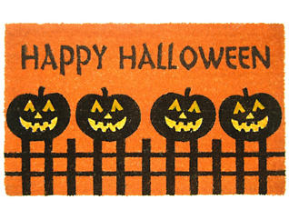 Pumpkins 18x30 Doormat, , large