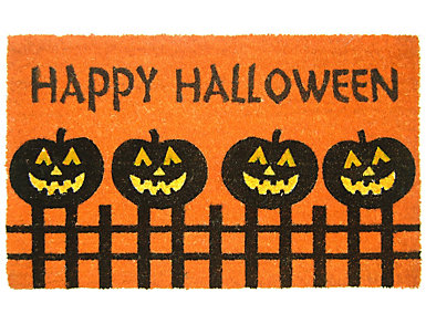 Pumpkins 18x30 Doormat, , large