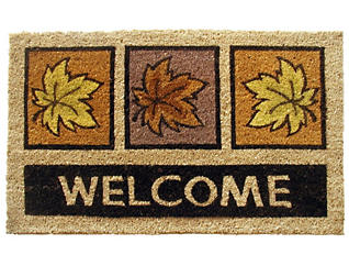 Leaves 18x30 Doormat, , large