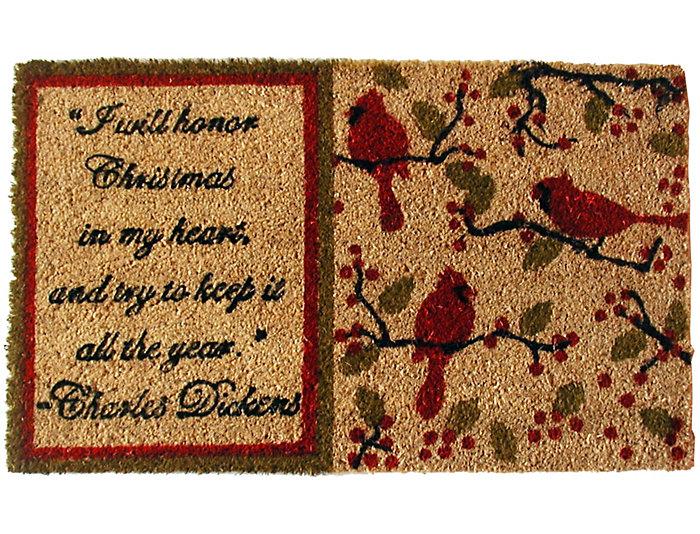 Dickens 18x30 Doormat, , large