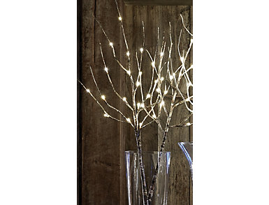 LED Lighted Branch with Timer, , large