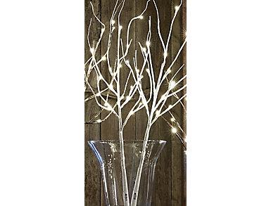 LED Lighted Branch w/Timer, , large