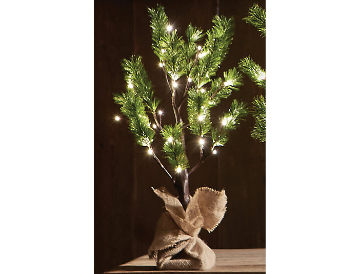 3  Norway Pine In/Out LED Tree, , large