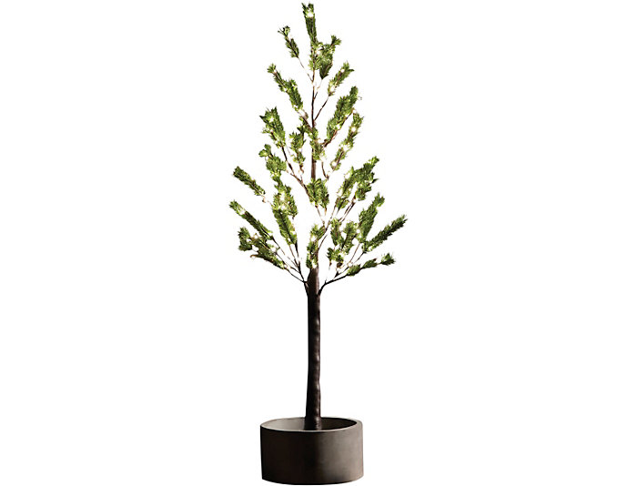 5  Norway Pine In/Out LED Tree, , large