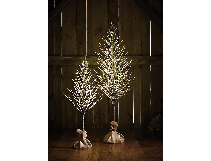 6  Snowy In/Out LED Tree, , large