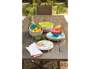 Flora 12pc Dinnerware Set, , large