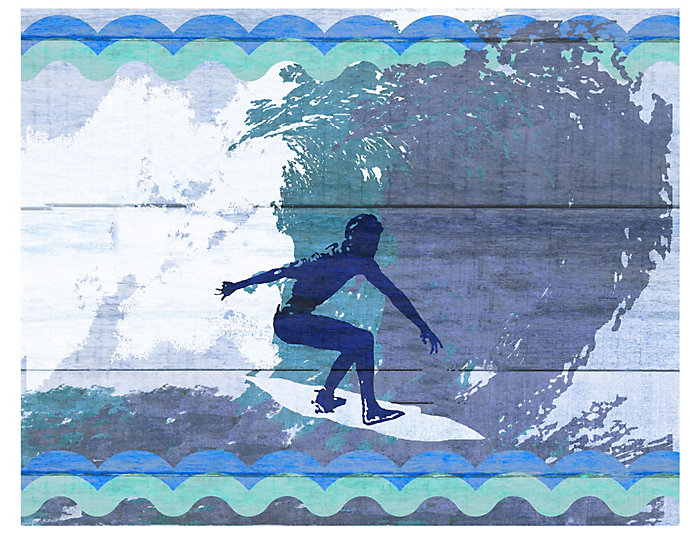 Wall Art - Surfer I, , large