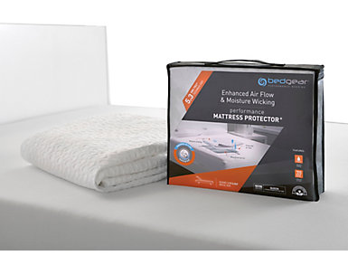 Bedgear Dri-Tec  5.3 Mattress Protector, Queen, , large