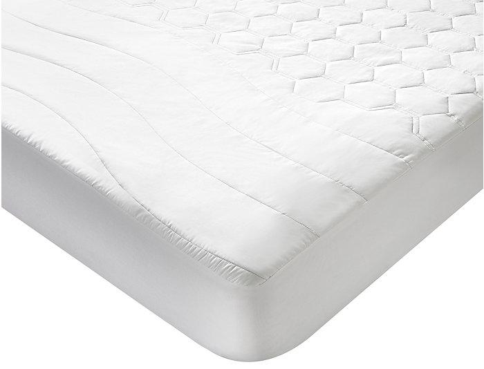 Bedgear Hyper Cotton Queen Waterproof Mattress Protector, , large