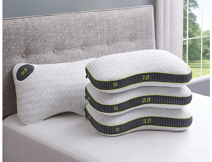M1-1 Memory Foam Pillow, , large