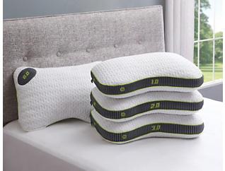 M1-2 Memory Foam Pillow, , large