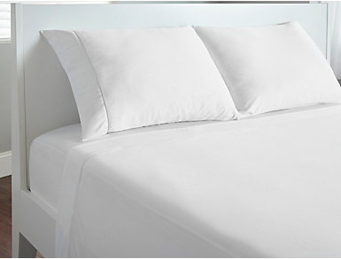 Dri-Tec Sheet Set, Twin, White, , large