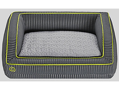 Bedgear Grey Medium Pet Bed, , large