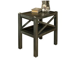 Alumina Chairside Table, Ash, , large
