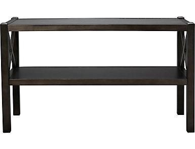 Alumina Deep Charcoal Sofa Table, , large