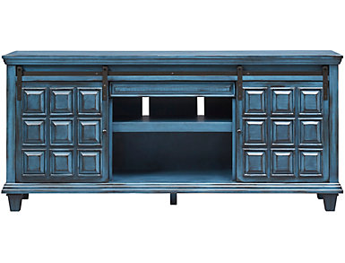 "Antigua 72"" Blue TV Stand, , large"
