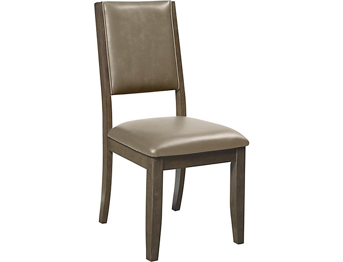 Cafe Upholstered Side Chair, Quarry, , large