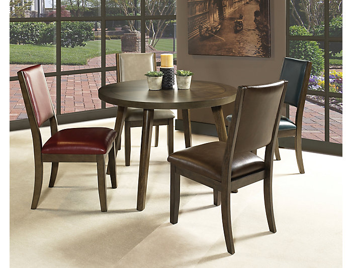 Cafe Upholstered Side Chair, Ruby, , large