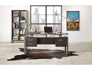 """Mar Vista 64"""" Charcoal Desk, , large"""