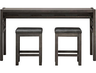 Alumina Grey 3 Piece Work Station, , large