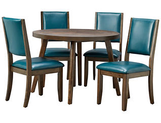 Cafe Table & 4 Marine Chairs, , large