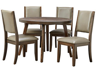 Cafe Table & 4 Quarry Chairs, , large