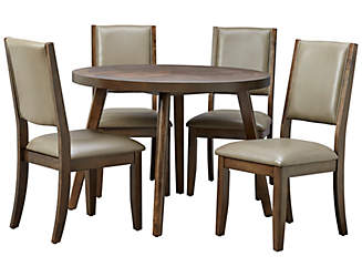cafe table 4 quarry chairs