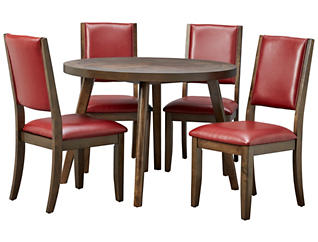 Cafe Table & 4 Ruby Chairs, , large