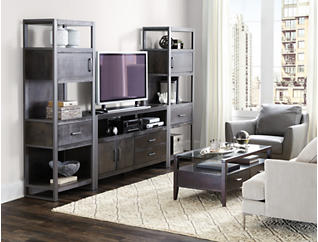 "Mar Vista Light Charcoal Wall with 65"" TV Stand, , large"