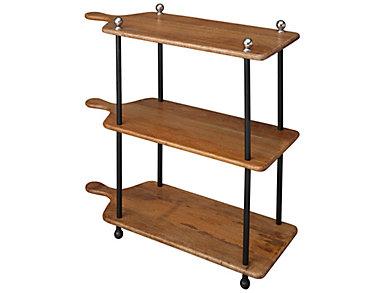 Baking Plank Bar Cart, , large
