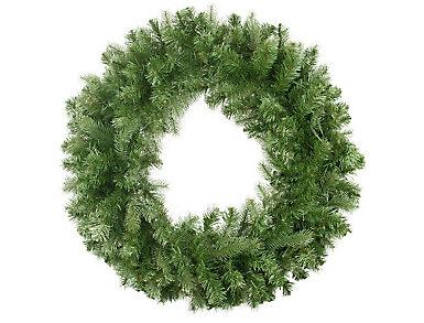 """30"""" Unlit Noble Fir Artificial Wreath, , large"""