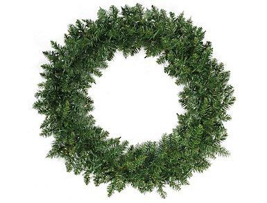 """36"""" Unlit Buffalo Fir Artificial Wreath, , large"""