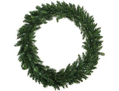 """48"""" Unlit Buffalo Fir Artificial Wreath, , large"""