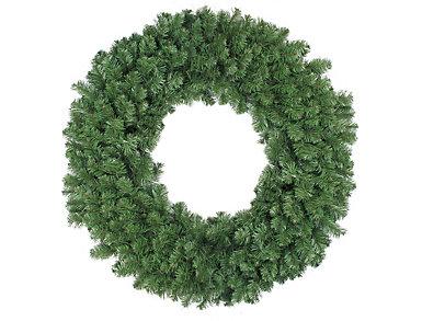 "36"" Unlit Colorado Pine Artificial Wreath, , large"