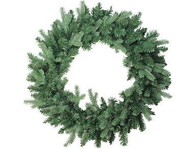 """30"""" Unlit Coniferous Mixed Pine Artificial Wreath, , large"""