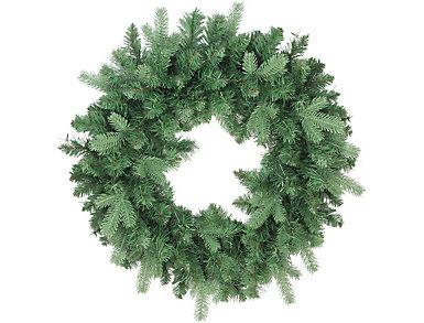 """24"""" Unlit Coniferous Mixed Pine Artificial Wreath, , large"""