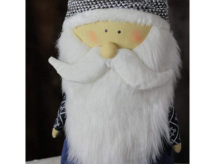 """28"""" Elegant Blue Santa Gnome, , large"""