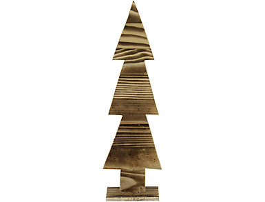 """17"""" Rustic Wood Cut-Out Tree, , large"""