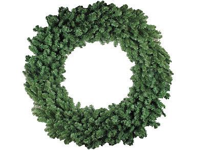 "60"" Unlit Colorado Pine Artificial Wreath, , large"