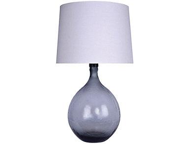 Smokey Table Lamp, , large