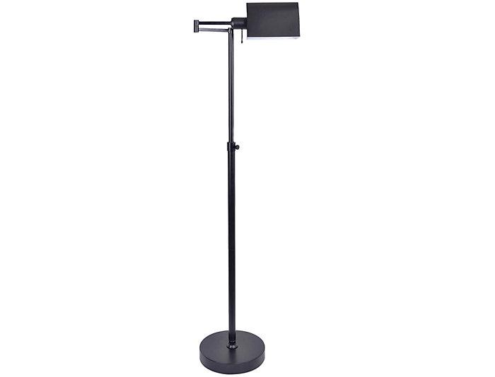 Antique Black Floor Lamp, , large
