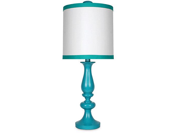 Blue Stripe Table Lamp, , large