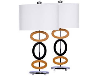 Pair of Table Lamps, , large