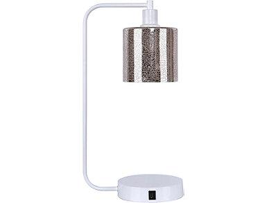 Matte White USB Task Lamp, , large